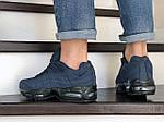 Чоловічі кросівки Nike 95 (темно-сині) 9146, фото 2