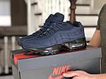 Чоловічі кросівки Nike 95 (темно-сині) 9146, фото 3