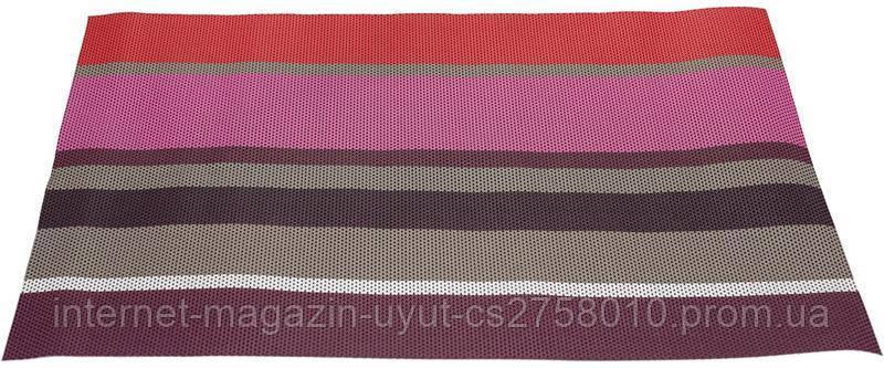 Набор 2 сервировочных коврика Wangelis Королевская Фуксия 30х45см, полиэстер
