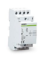 Модульный контактор, Noark (Чехия) Ex9CH63 40 220/230V 50/60Hz. 63 A, катушка 220/230 V, 4 NO