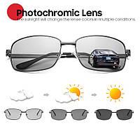 Очки солнцезащитные фотохромные хамелеоны VIVIBEE V4006 черные
