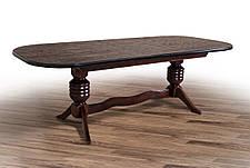 Стол обеденный Гетьман Микс мебель, цвет  орех, фото 2