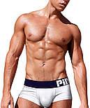Стильные мужские трусы Pink Hero - №3819, фото 3