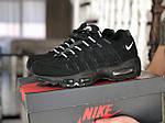 Чоловічі кросівки Nike 95 (чорно-білі) 9148, фото 3