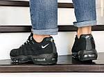 Чоловічі кросівки Nike 95 (чорно-білі) 9148, фото 4