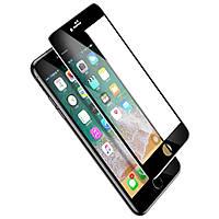 Защитное стекло Baseus 0.3mm All-screen Arc-Surface Tempered Glass Film iPhone 7/8 Plus Black (SGAPIPH8P-KA01)