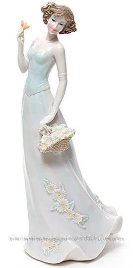 """Статуетка декоративна """"Дівчина"""" 28см, штучний камінь"""