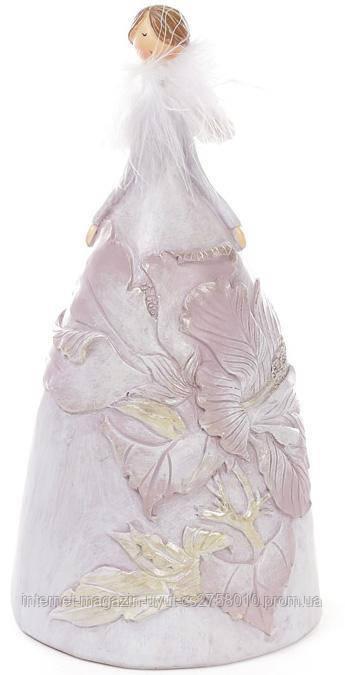 """Фігурка декоративна """"Тіффані в рожевому"""" 19.5 см"""