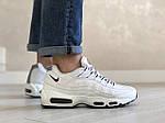 Мужские кроссовки Nike 95 (белые) 9151, фото 3