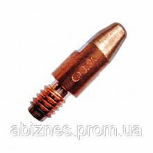 Наконечник токовый Ф0,8 М6х28 E-Cu/Alu для сварки алюминия