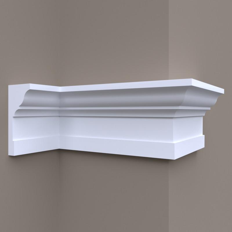 Карниз для фасаду, фасадний карниз Фк-30 h145х65