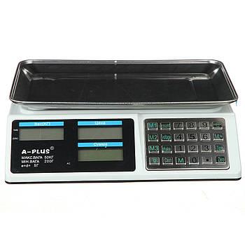 Весы торговые A-PLUS до 50 кг (1648)