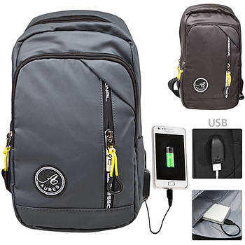 Рюкзак с USB STENSON 18 х 14 х 30 см (571)