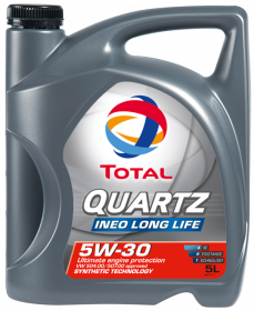 TOTAL 5W-30 Quartz Ineo Long Life (5л) моторне масло Тотал