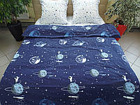 Комплект постельного белья ранфорс Космос