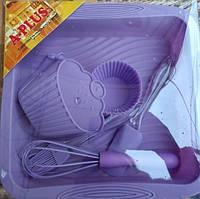 Набор подарочный силиконовый 6 предм., фото 1