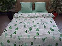 Комплект постельного белья ранфорс Кактусы, фото 1