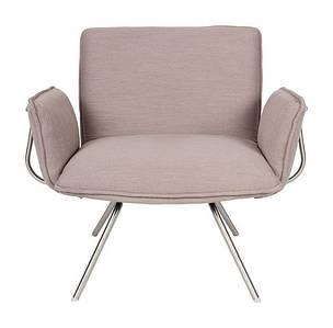 Лаунж - кресло GRANADA (Гранада) мокко от Niсolas, ткань