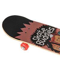 Скейтборд трюковый двусторонний Skate Buddies 3108YS-1 (Канадский клен), фото 2
