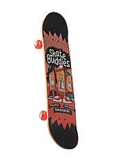 Скейтборд трюковый двусторонний Skate Buddies 3108YS-1 (Канадский клен), фото 3
