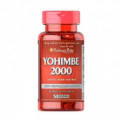 Yohimbe 2000 mg (50 капс.) Puritan's Pride