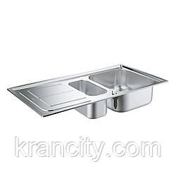 Кухонная мойка K300 с доп. чашей Grohe EX Sink 31564SD0,Германия