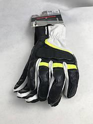 Женские мотоперчатки  Grip 2 Leather Lady Black/Fluoresce C 45 итальянской маркиSPIDI  размер  XXL