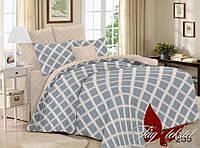 Постельное белье 2-спальное Сатин Люкс с компаньоном S255
