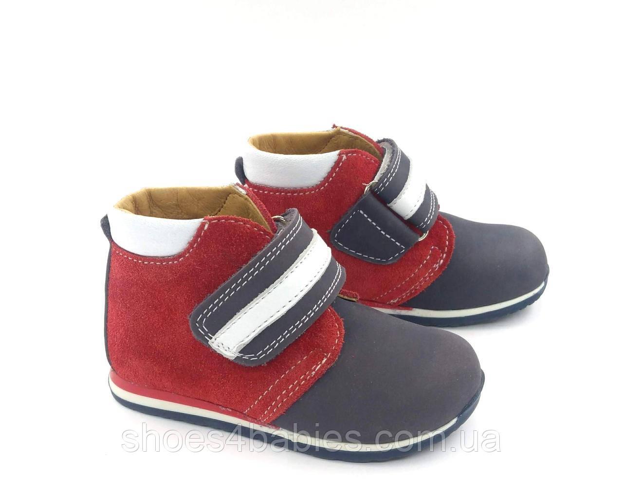 Ботинки кожаные демисезонные ТМ FS, р. 21 - 14см
