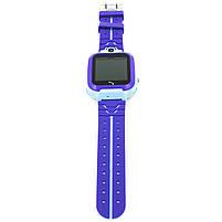 """Смарт-часы детские Smart Baby Watch Q12 Blue диагональ 1.44"""" сенсор с камерой GPS ответ на звонки 400 мАч, фото 2"""