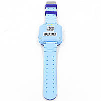 """Смарт-часы детские Smart Baby Watch Q12 Blue диагональ 1.44"""" сенсор с камерой GPS ответ на звонки 400 мАч, фото 3"""