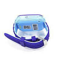 """Смарт-часы детские Smart Baby Watch Q12 Blue диагональ 1.44"""" сенсор с камерой GPS ответ на звонки 400 мАч, фото 4"""