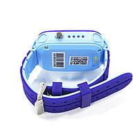 """Смарт-часы детские Smart Baby Watch Q12 Blue диагональ 1.44"""" сенсор с камерой GPS ответ на звонки 400 мАч, фото 5"""