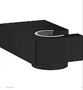 Porter E Душевой держатель, цвет покрытия матовый чёрный