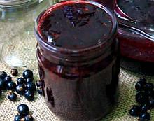 Варення з чорної смородини 0,5 л
