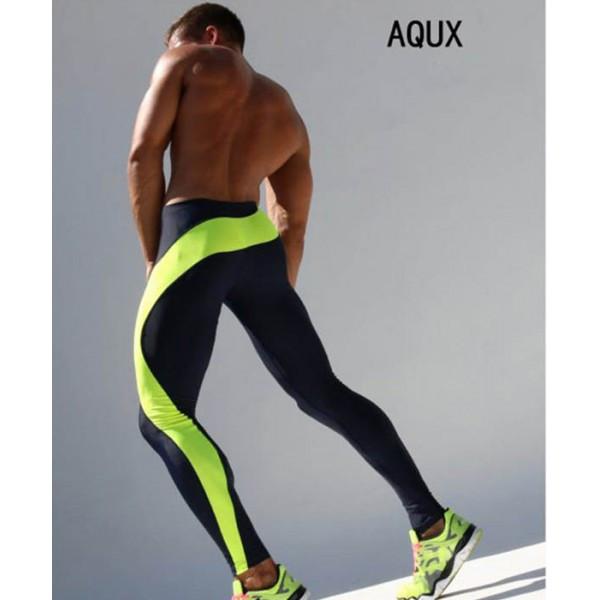 Мужские спортивные леггинсы Aqux - №1211