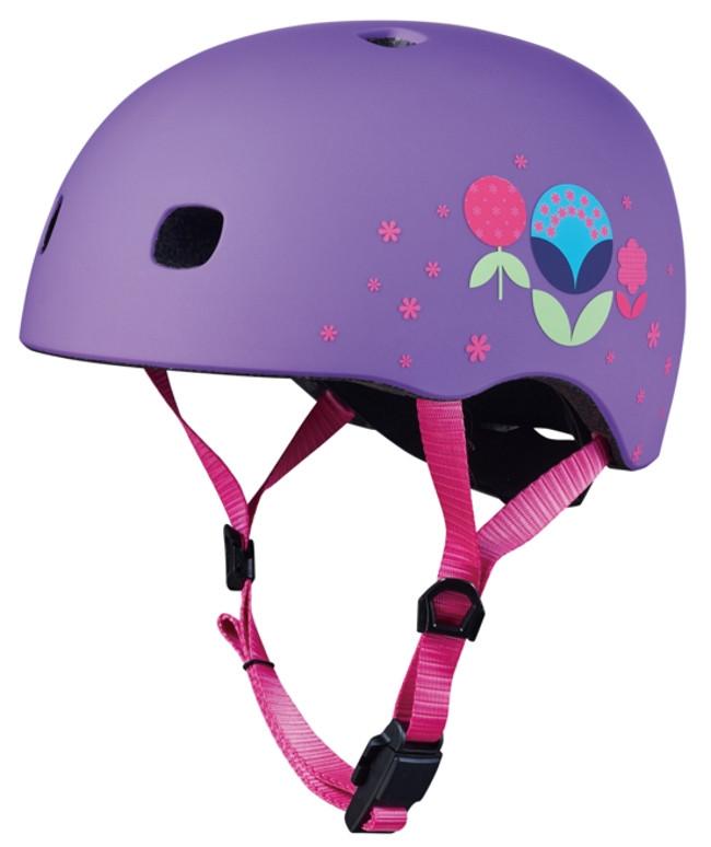 Шолом Micro Floral Purple, LED
