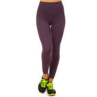 Лосины для фитнеса и йоги VSX, лайкра, р-р S-L-42-48, фиолетовый (CK5536-(vl))