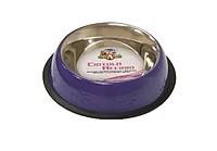 Миска для собак и котов фиолетовая серии CROCI COLLORS 240 мл