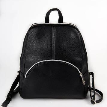 Рюкзак черный женский код 25-20742