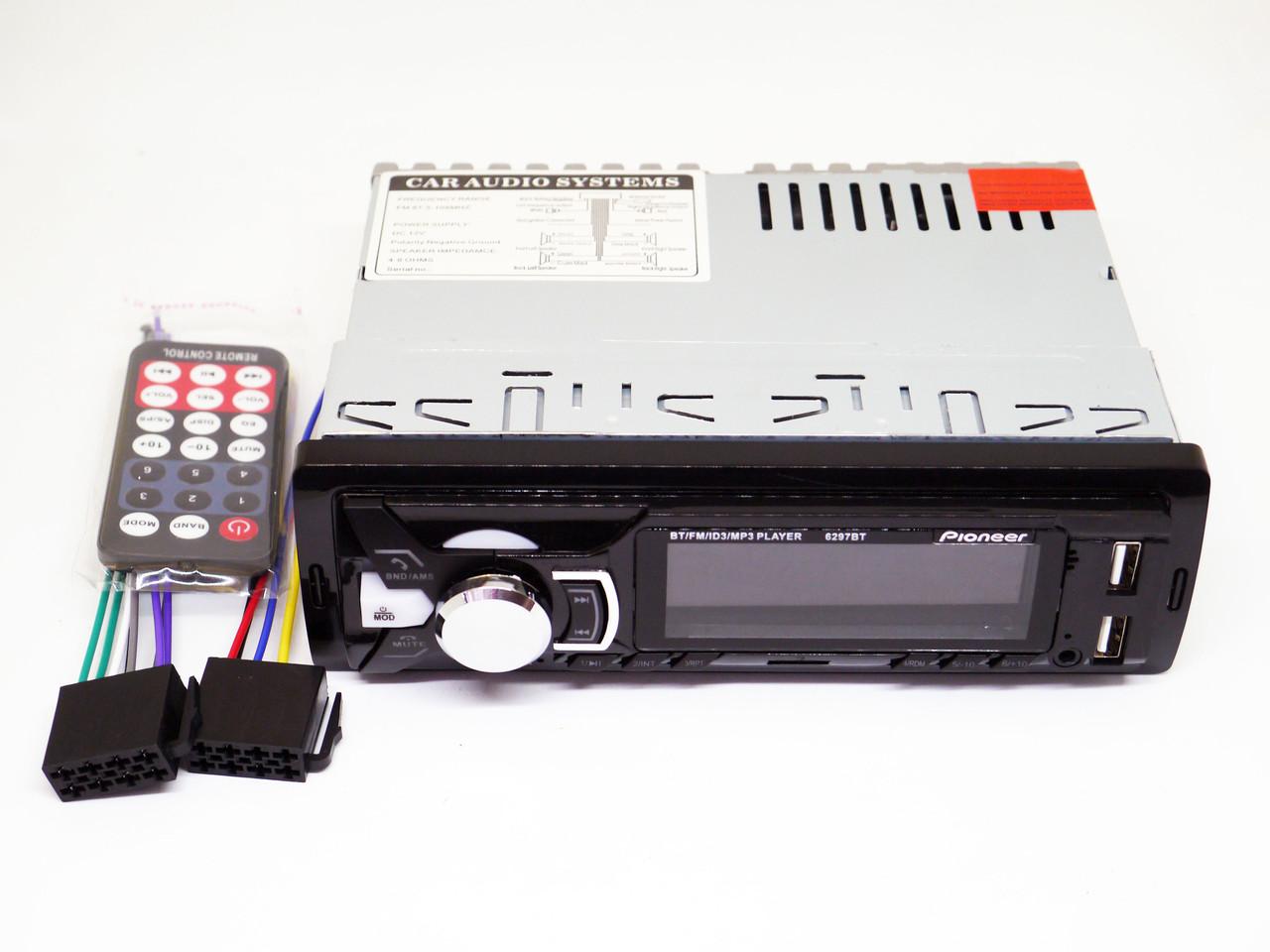 Автомагнитола Pioneer 6297BT Bluetooth+2xUSB+SD+AUX 4x50W - Интернет магазин электроники