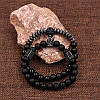 Браслеты из натуральных камней Black King & Skull, фото 3
