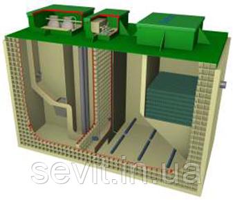 Локальные очистные сооружения BioBoxPro-125 (125 м3/сутки)