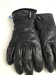 Кожаные мотоперчатки  Metropole Glove Lady Black A199 итальянской маркиSPIDI  размер  M