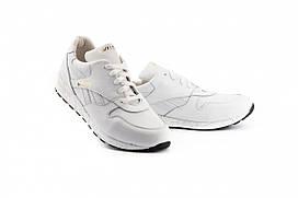 Кросівки для дівчат шкіряні весна / осінь білі Yuves R 250 р. 32 33 34 35 36 37 38 39