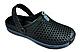 Мужские кроксы ОЛИМП (оригинал) черные размер 44-45, фото 2