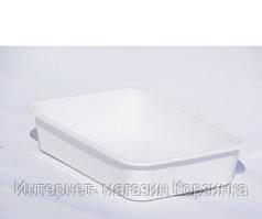 Лоток пищевой №2 (3,8 л) белый