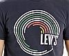 Мужская футболка Levis Graphic Tee - Black (M), фото 2