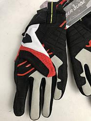 Кожаные мотоперчатки Flash-R B86 Red B86 итальянской маркиSPIDI  размер  M
