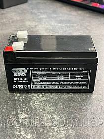 Гелевый аккумулятор OUTDO 12V-1,3Ah (12V1.3 Ah/20HR) OT 12-1,3